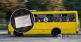 В Киеве водитель маршрутки придумал свои правила проезда