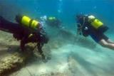 Обнаружен затонувший во время цунами в древний город